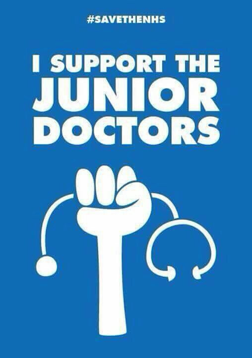 We do support the junior doctors #TheyAreTheDoctorsWho https://t.co/2AhCykyByC