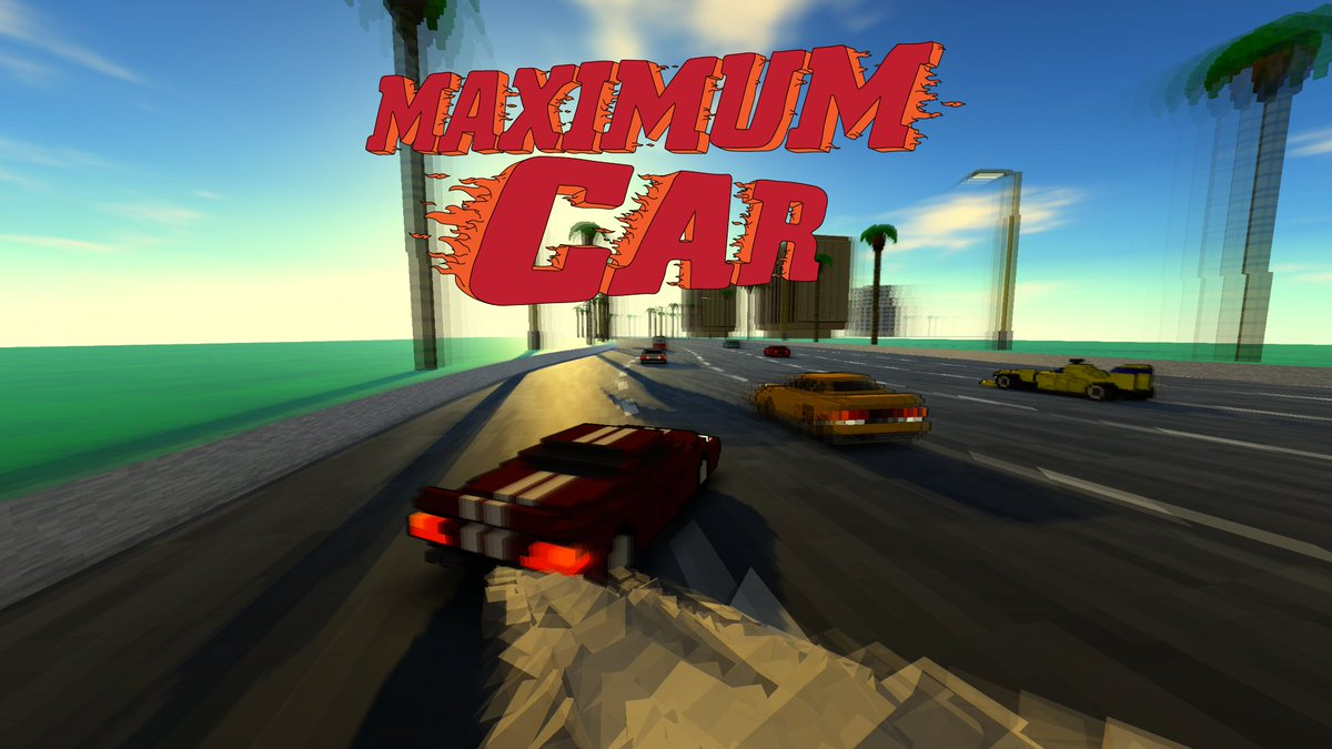MAXIMUM CAR - The most car ever yet seen in a video game - COMING SUMMER 2016 -  https://t.co/S67boPoflu https://t.co/CjGugwnX3A