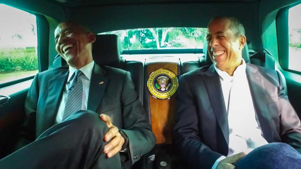 In honor of #PresidentsDay - here is Obama hanging out in cars, with @JerrySeinfeld: https://t.co/41OFKNWU0d https://t.co/jTEEWS82q2