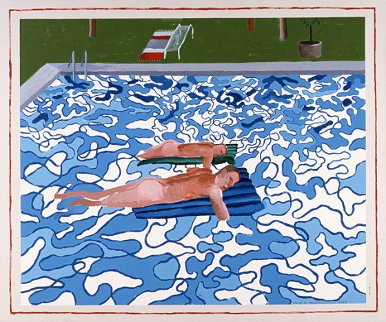 Many Of David Hockney S Works Draw Upon La S Cultural Iconography