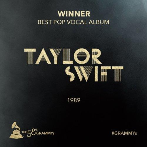 Congrats Best Pop Vocal Album @taylorswift13 - '1989' #GRAMMYs https://t.co/6gqbPR2JmW
