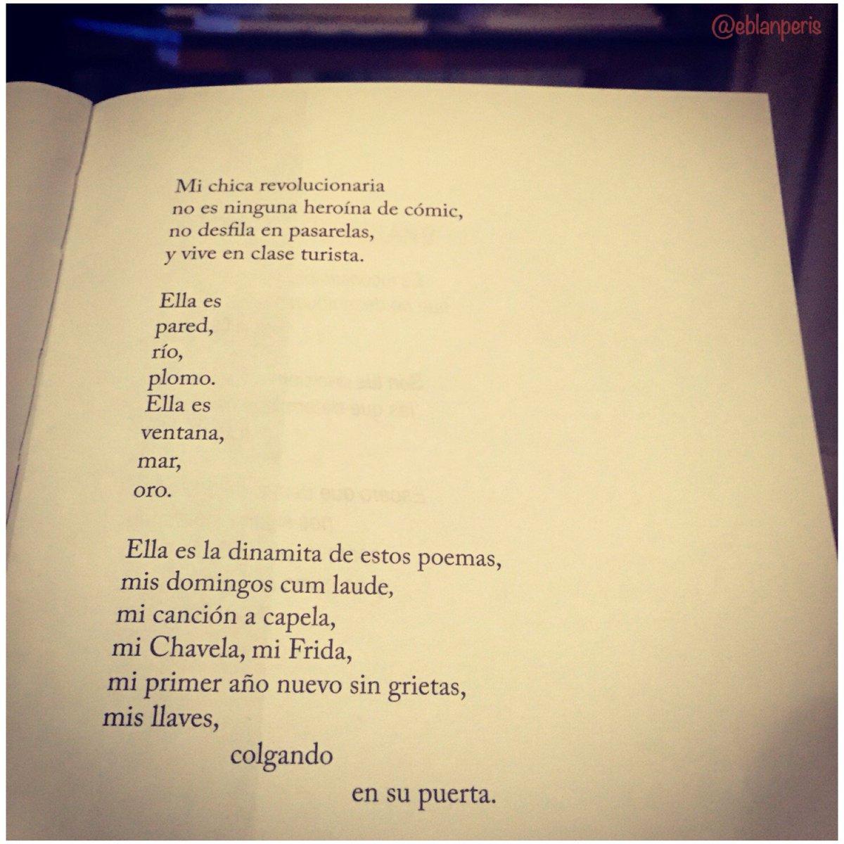 Buenas noches! #Poesía de la mano de @diegoojeda85 y #michicarevolucionaria