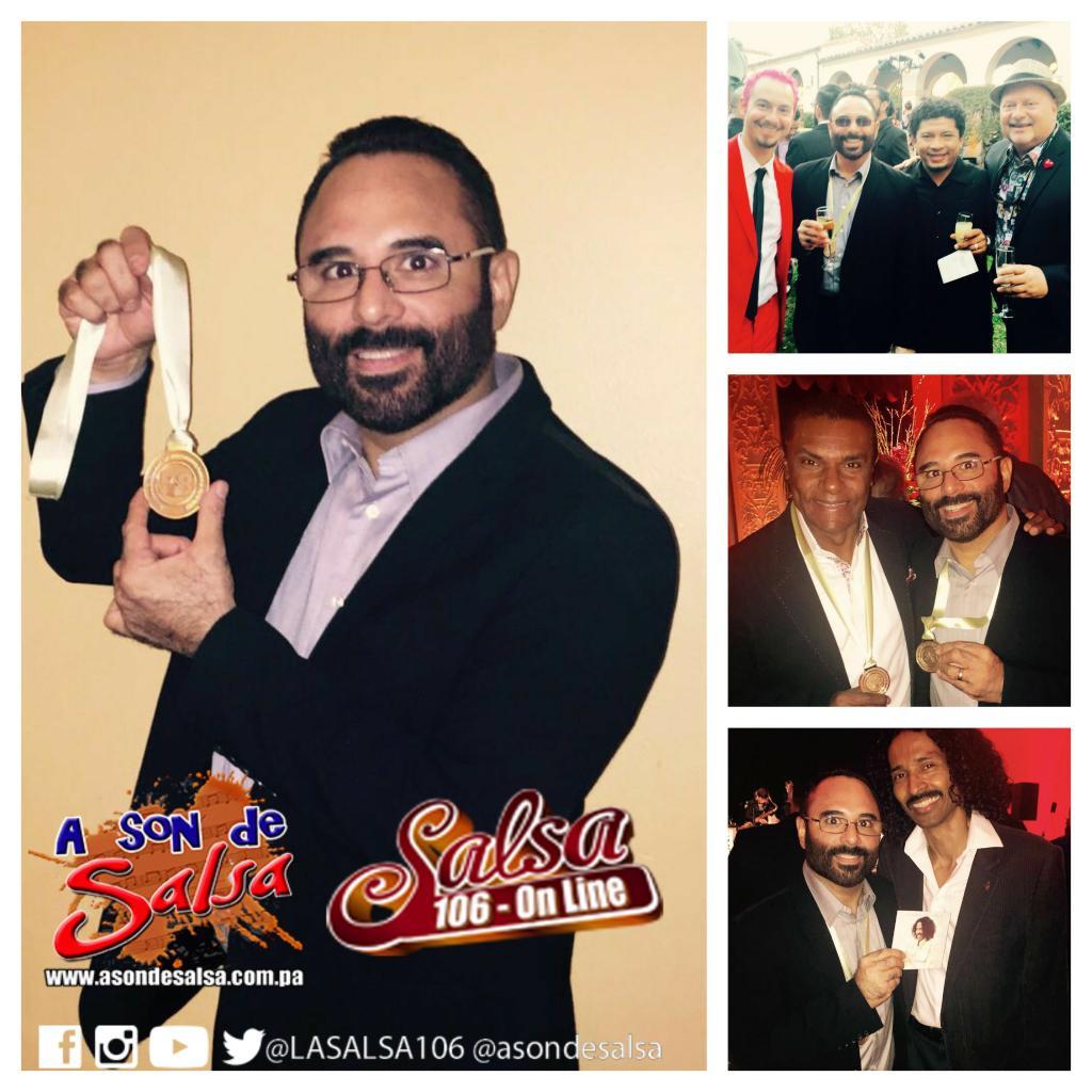 Felicidades a Roberto Delgado hasta Los Angeles donde recibe el #GRAMMYs por #SonDePanama junto a @rubenblades https://t.co/K8vyQ2A9jt