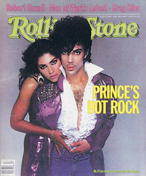 Vanity with Prince on the cover of the Rolling Stone, April 1983. RIP https://t.co/x5JoxRlKZr
