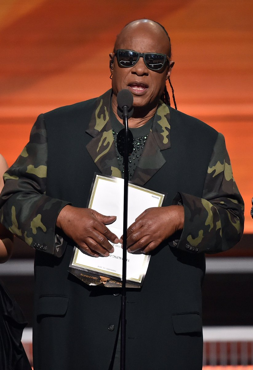 Stevie Wonder teased the GRAMMYs audience: