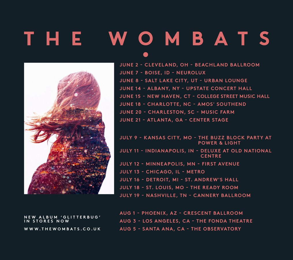 INCOMING... Excited to say we'll be back in the USA this summer! Tickets go on sale this Friday at 10am EST.