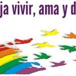 Todo el mundo tiene derecho a vivir en paz con sus sentimientos ##StopHomofobia Agresión=Denuncia ☎062 👬💜👭 https://t.co/YCM4YUApkU