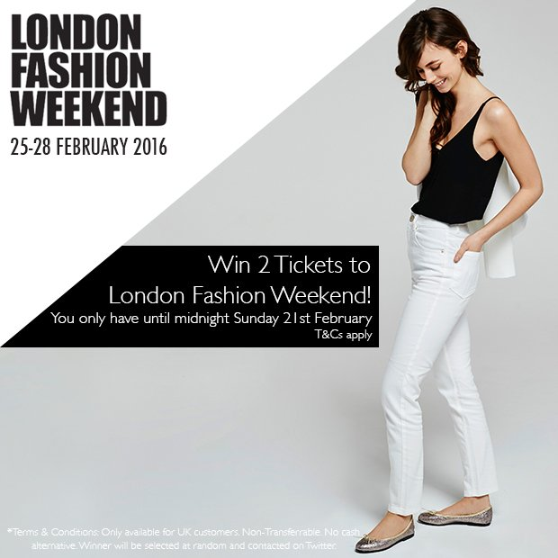 Win 2 x Tickets to London Fashion Weekend! To enter simply follow us on Twitter and Retweet this tweet #competition https://t.co/rA7Wl55pml