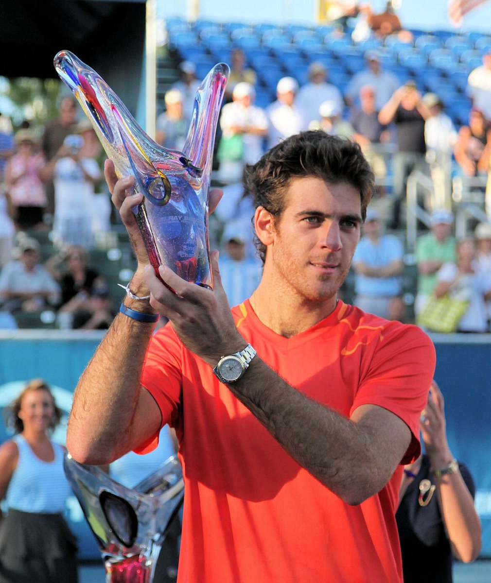 TODAY IS THE DAY! #delporeturns to the #DelrayBeachOpen courts for the 1st time since his 2011 title @delpotrojuan https://t.co/r10AfxCIvo