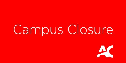 #ACAlert Closure of Ottawa and Perth campus due to weather conditions » https://t.co/42Xwf76xNn https://t.co/OPRdqKfOQA