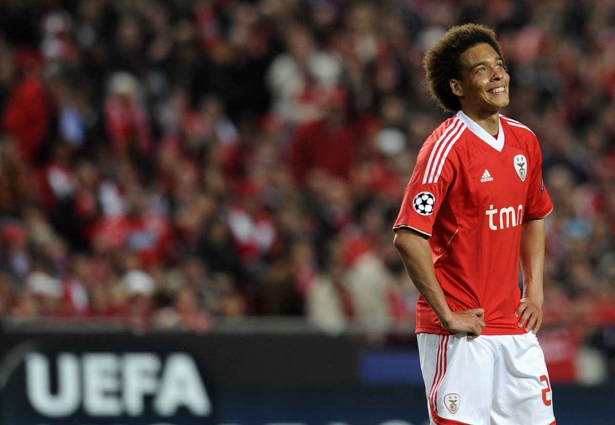 "Axel witsel zenit midfielder ""benfica made my name all over the"