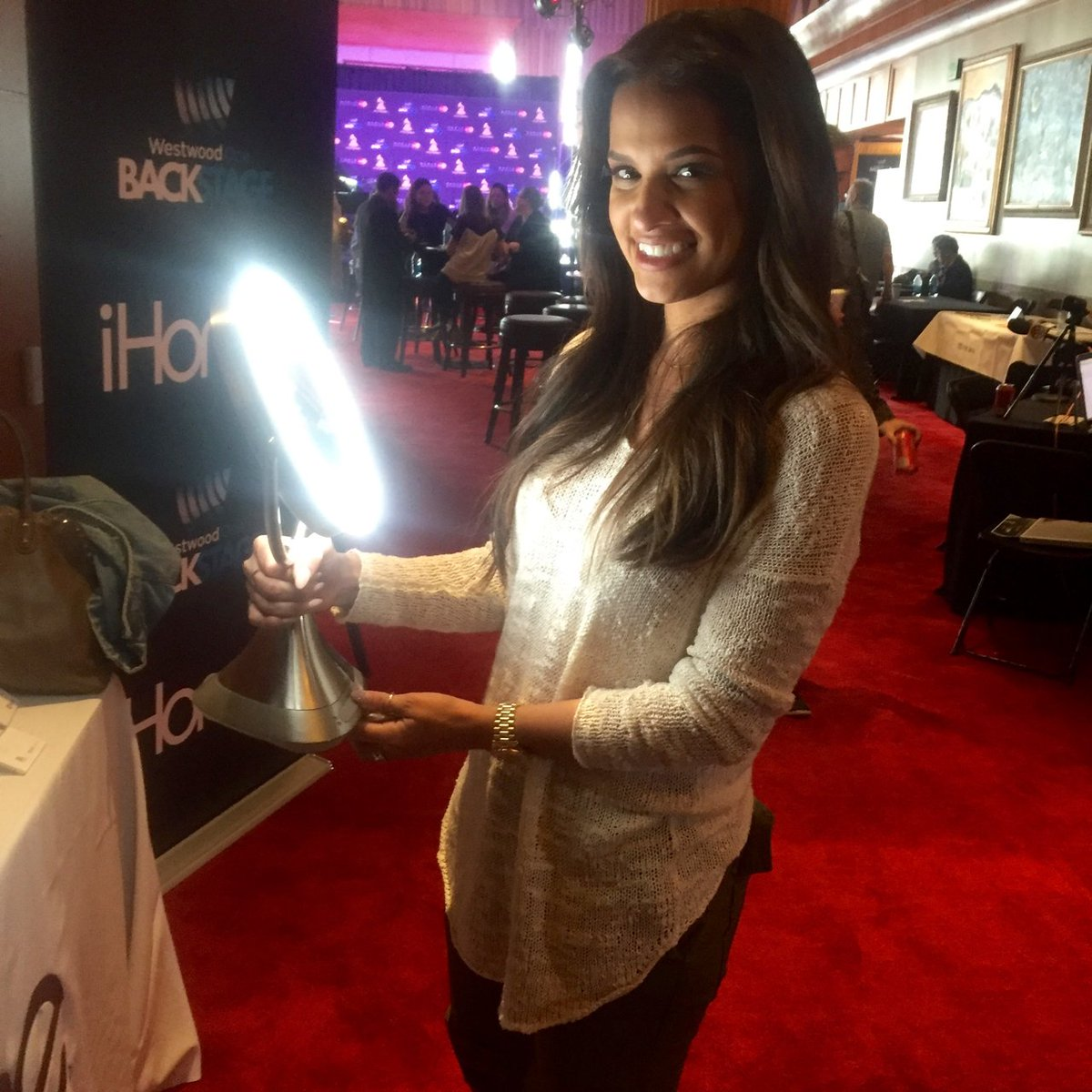 Had an amazing time at @WestwoodOne's Backstage at @TheGRAMMYs! @rocsidiaz Check it out: https://t.co/qafxtIwa1V https://t.co/Blg8QJnRMl