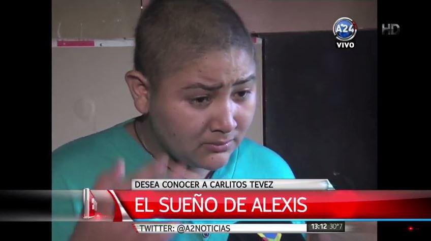 #ElSueñoDeAlexis  Desea conocer a @carlitos3210  Dale RT si querés que lo logremos Para ayudarlo: (011) 15 2548 7690 https://t.co/9oDRPfmh2t