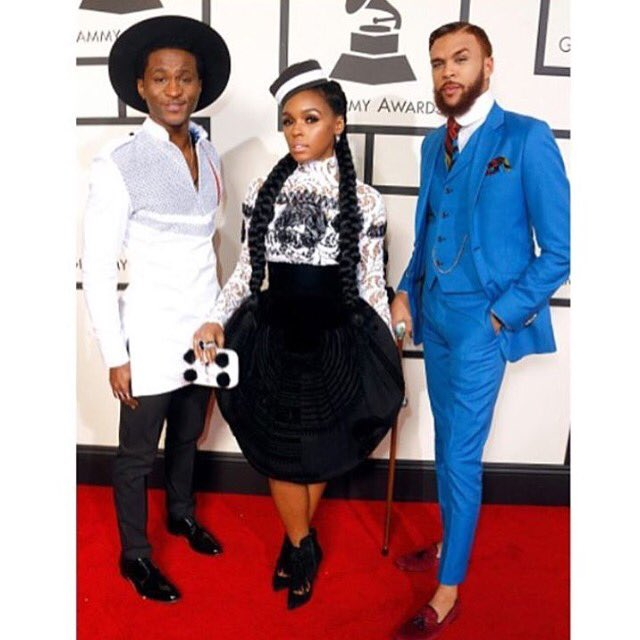 Big Congratulations to @jidenna @romangianarthur @janellemonae & @wondaland for their nomination for #ClassicMan https://t.co/rdiGXPeWoV