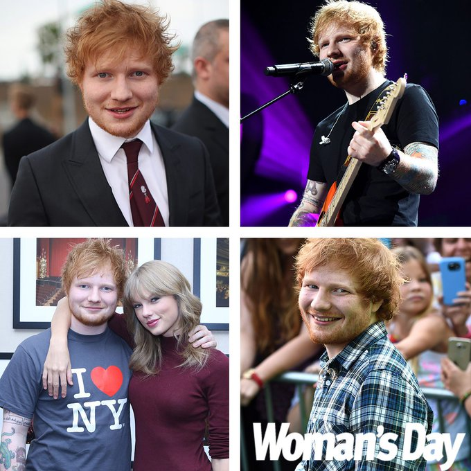 Happy Birthday to our favourite ginger and number one bestie, Ed Sheeran! The star turns 25 today.