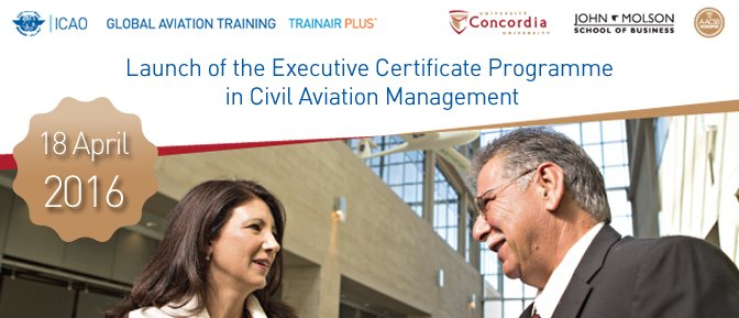 Launch of the Executive Certificate Programme in Civil Aviation Management