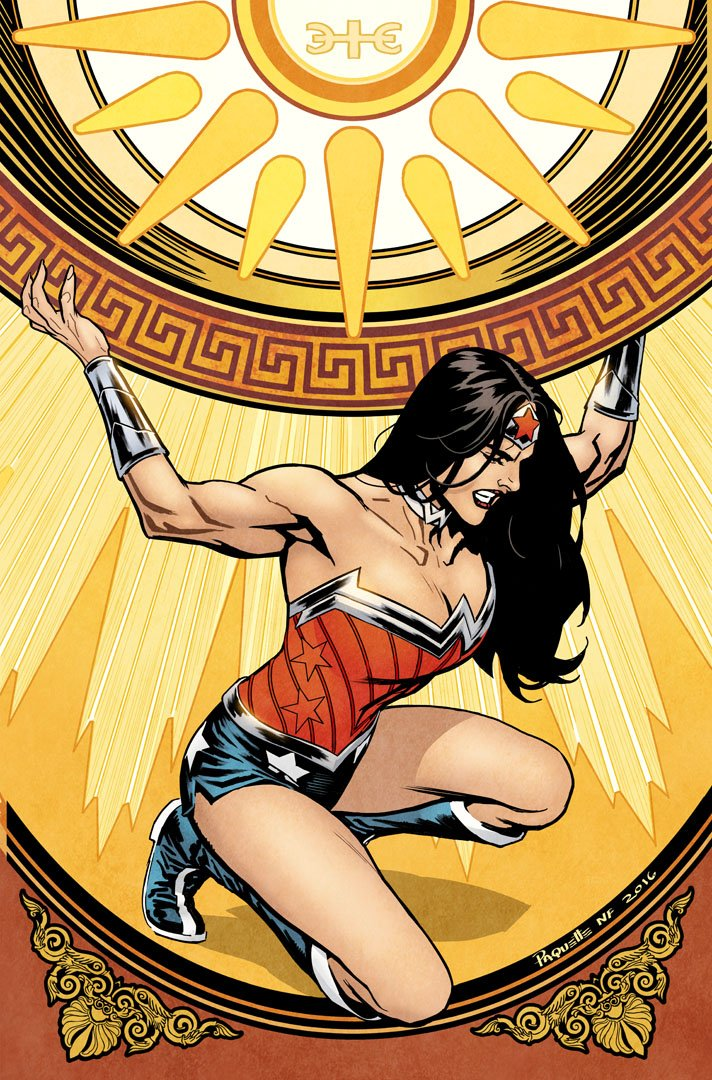 my WonderWoman cover to Issue #52 , Color by your Usual, @nathanfairbairn https://t.co/sEFTVRmzXh