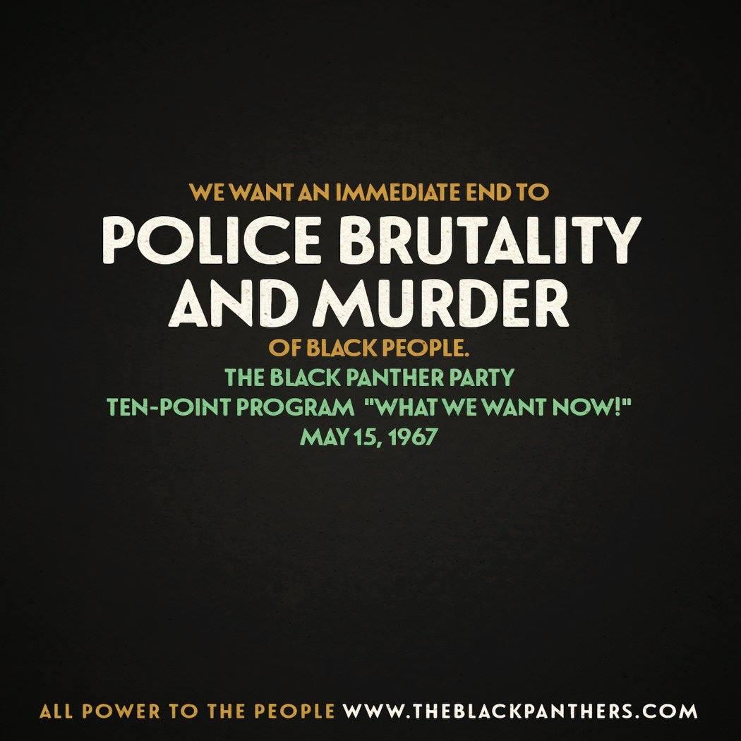 The Black Panther Party's Ten-Point Program https://t.co/JKC6s6pzvc Via @panthersdoc #BlackPanthersPBS https://t.co/bujccvgbyh