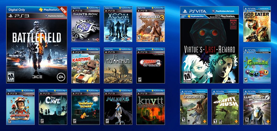 @PlayStation Reminder - here's what PS+ looked like 3 years ago. https://t.co/M2TFOZIAL2