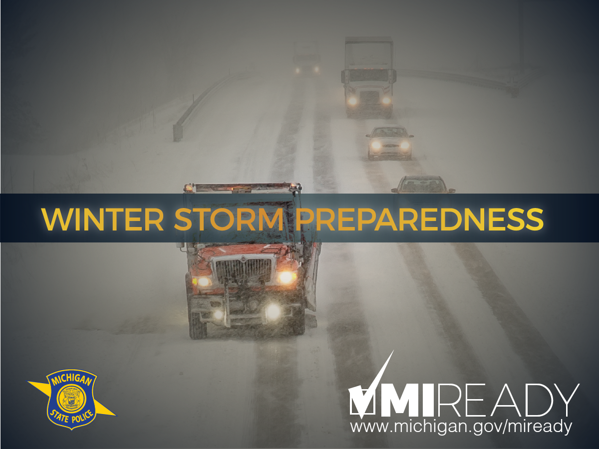 Winter Preparedness Tip: If you see a snowplow on the road, be sure to give it room to groom. https://t.co/Le0Z8JmPlj