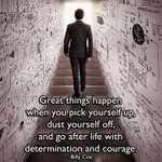 Today, go after life with determination and courage! https://t.co/FWKU6Z911K