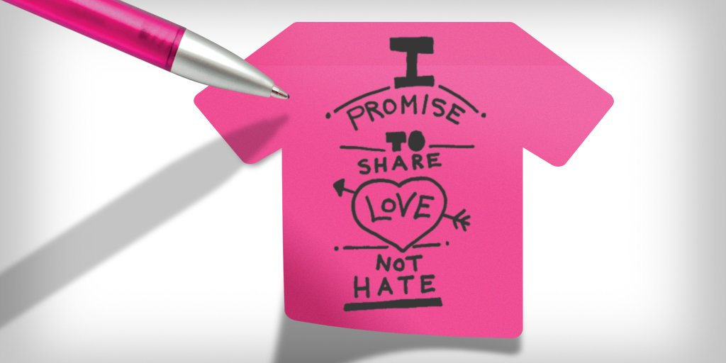 It's #PinkShirtDay!  Share your #PinkShirtPromise and let's put an end to bullying. https://t.co/lhsoO1mXIl https://t.co/bFYlZ30MO3