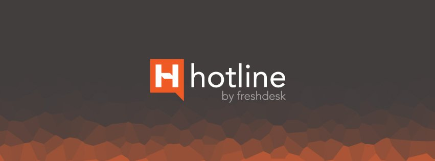 Your business lives on mobile. Your support should too. Presenting Hotline by Freshdesk. https://t.co/sEORYKuhM9 https://t.co/8i0AJLsoEU
