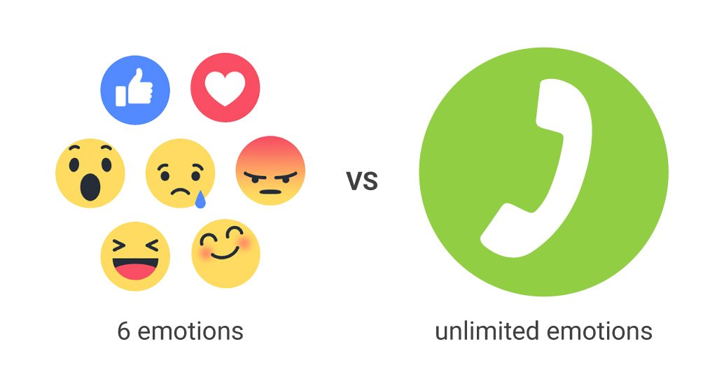 New #Reactions on FB, m'kay. But isn't your voice better to express yourself? #SaveTheVoice https://t.co/MUViUqrBtZ