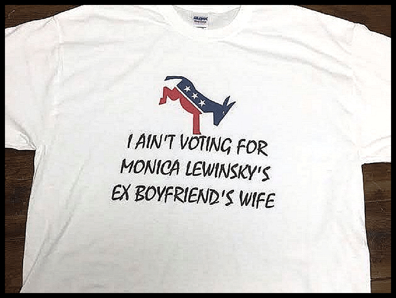 Best campaign T-shirt ever? https://t.co/xVqb3lG3MQ