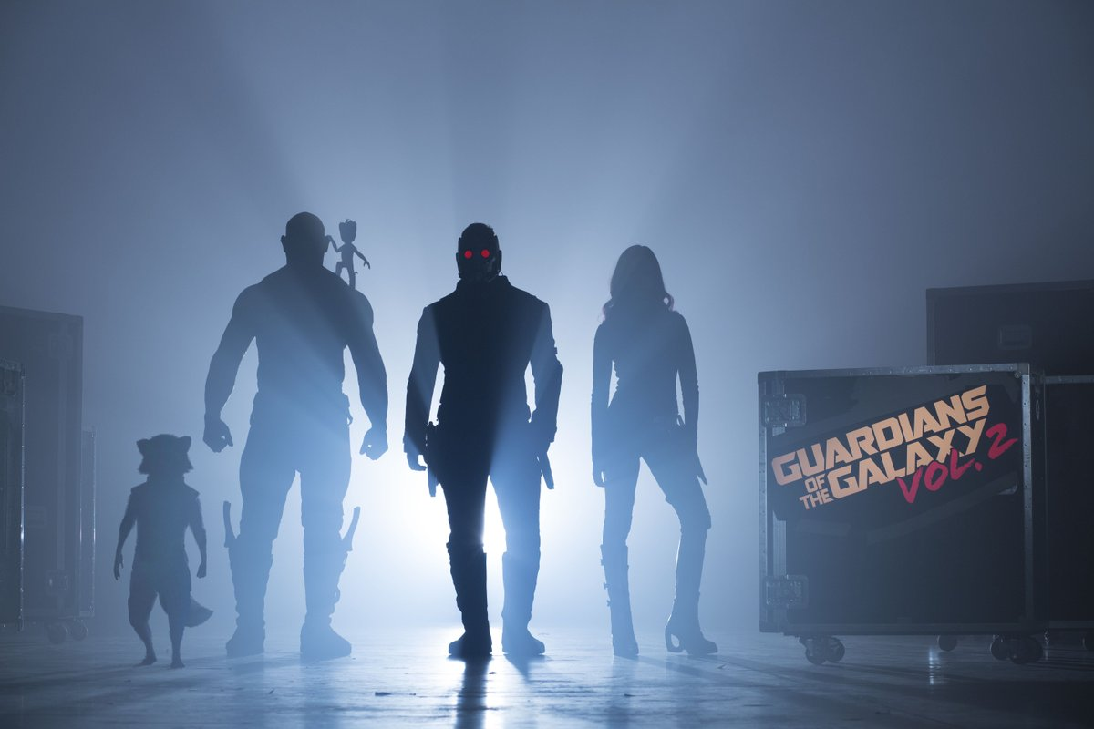 Official Photography on Guardians of the Galaxy Vol. 2 has begun. You're very welcome. https://t.co/741upZ21g7