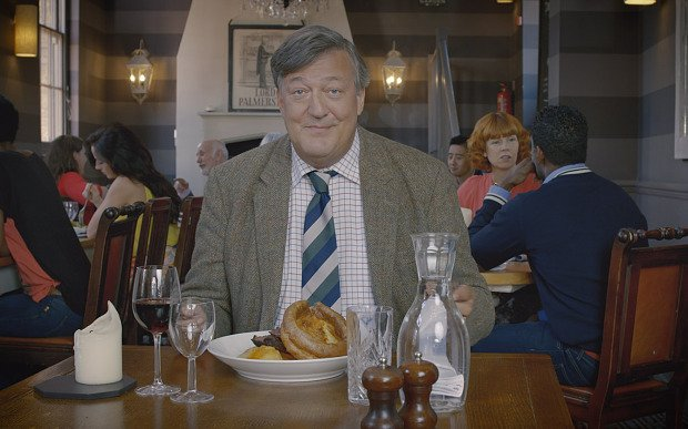 Go behind the scenes of our UKGuide to see what Stephen Fry loves and misses about the UK!
