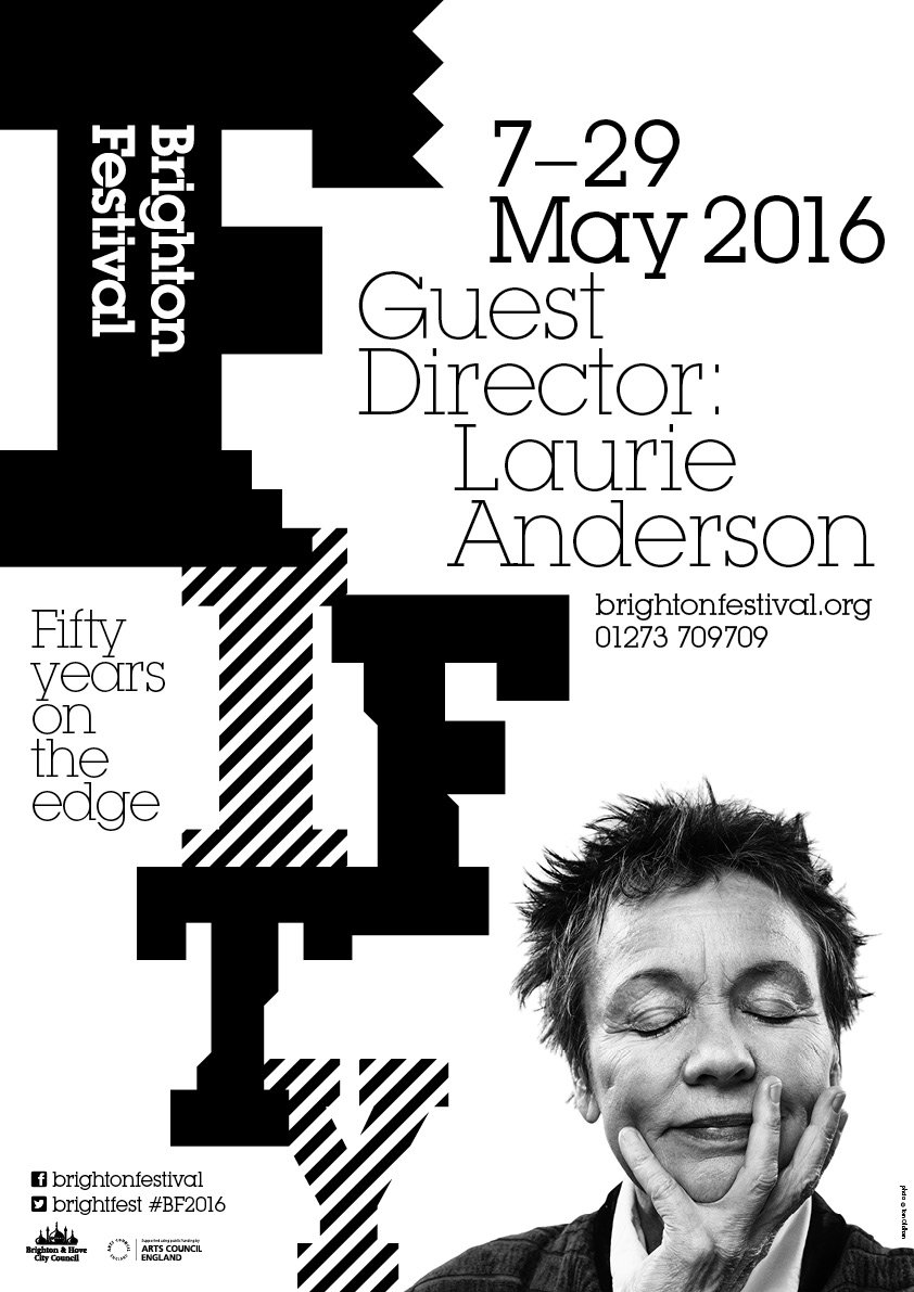 Our fiftieth Brighton Festival is GO! The fantastic #BF2016 programme is now available https://t.co/FLIUKqOq2X https://t.co/JlrB5Jt1gy