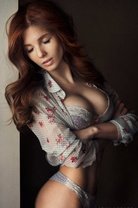 Busty Redhead Vids 49