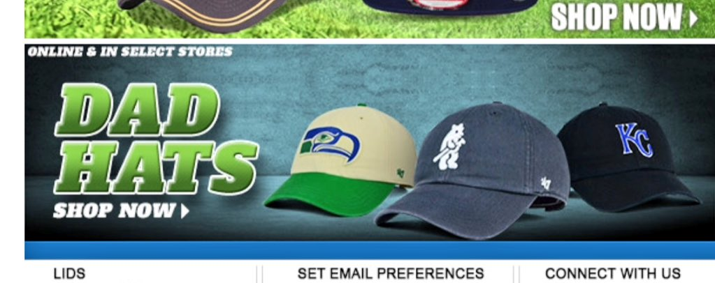 Oh dear. It seems that hats without flat brims are now known as... https://t.co/N28CIs3FlS