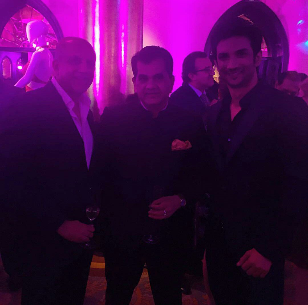 Bollywood makes a dapper appearance in the form of @itsSSR at the #MakeInIndiaMagazine launch https://t.co/dKcTvfc4gF