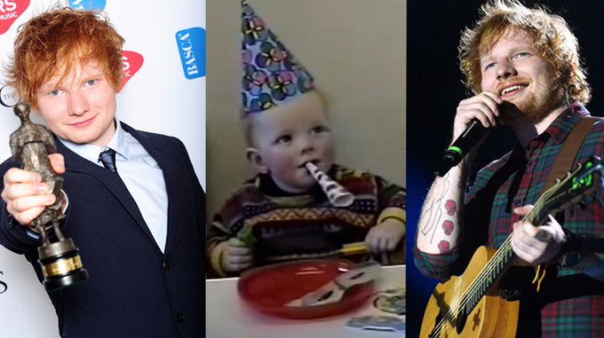 Happy Birthday Check out our favourite Ed moments! <3