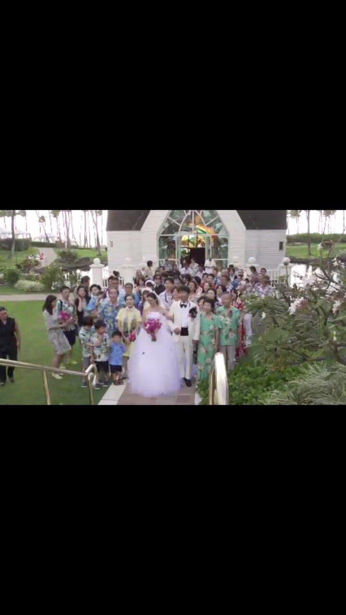 今回、ハワイのマウイ島から 結婚式をネット中継致しました。見てくださった皆様ありがとうございました