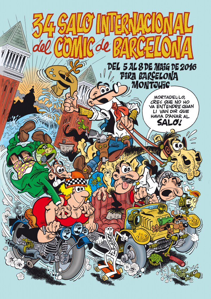 El cartell del Saló del Còmic d'enguany és digne de veure https://t.co/4lJgADeOdq @FICOMIC_salon @Fira_Barcelona https://t.co/COl7bw5YxN