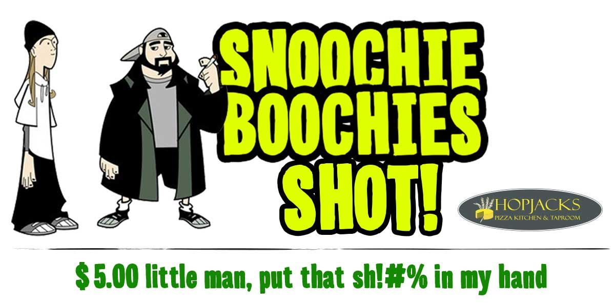 Yo! @JayMewes, here is your own @Pensacon Shot we will be featuring. #SnoochieBoochies https://t.co/X9J6opZISE