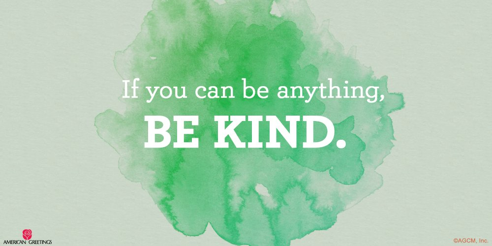 Happy #RandomActsOfKindnessDay! RT and tag someone who is always, always kind! https://t.co/9XUgHKAH4V
