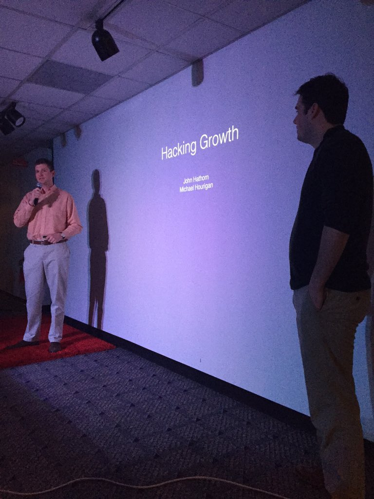Proudly supporting our Growth Hackers Mike and John presenting at @Verge_NC! #vergenc #growthhacking https://t.co/YC9Oq47EoO