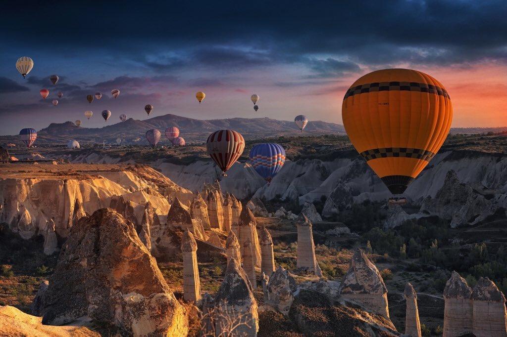 Cappadocia, Turkey | Photography by ©Kelvin Zhang https://t.co/FZgiBmnrRs