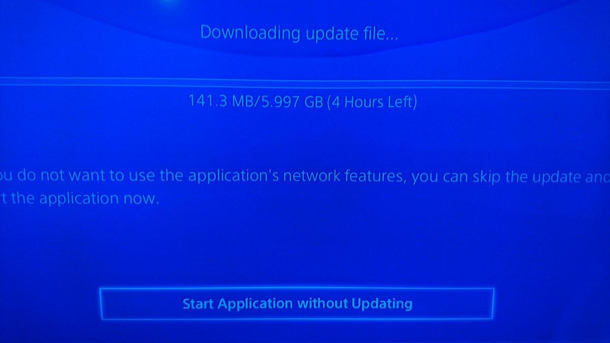 LOL con el 'update' de 6GB de Street Fighter V. Qué abuso y desperdicio de recursos. Bravo, Capcom. https://t.co/Nug1rIUOeo