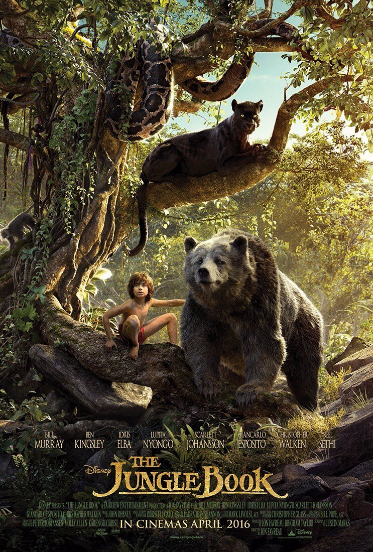 If U want 2 see #TheJungleBook 1st with @TheNeelSethi U will have 2 go 2 #India  released April 8 - US April 15 https://t.co/OoSJVRu0hq