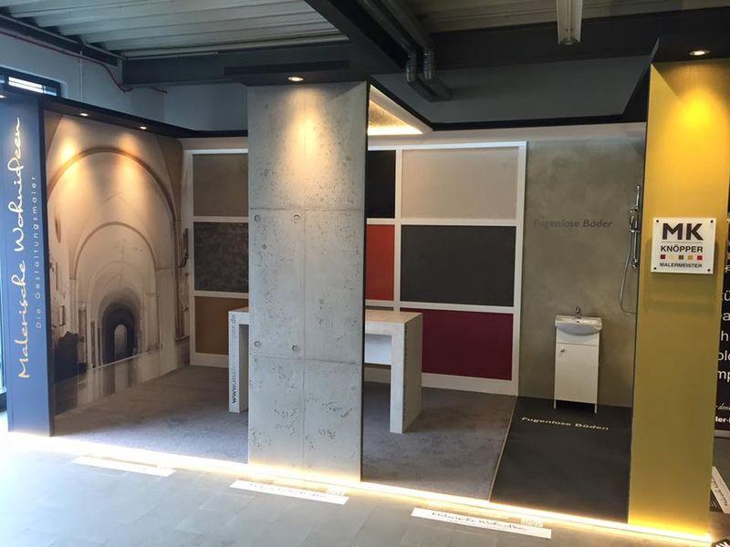 """Wohndesign pur! """"Die Gestaltungsmaler"""" auf der Bau-Expo in Gießen von heute bis Sonntag https://t.co/obsHd8YAbk … https://t.co/Oxg1P5vEUf"""