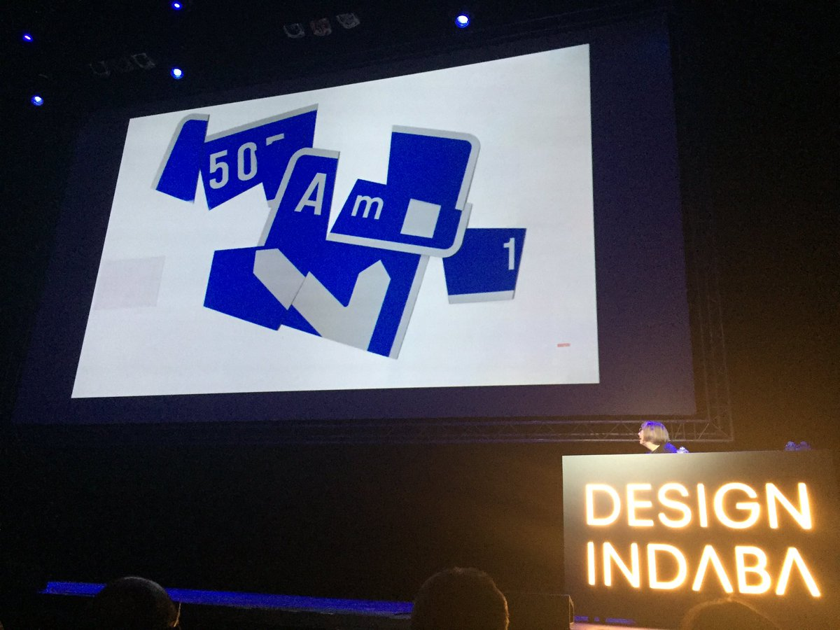 """""""If I can give anybody any advice (on design), you just do it your way"""" - Margaret Calvert #DI2016 https://t.co/5zyzyesVYF"""