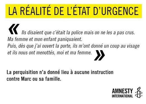 Etat d'urgence @amnestyfrance https://t.co/ZvVZXZ82ta