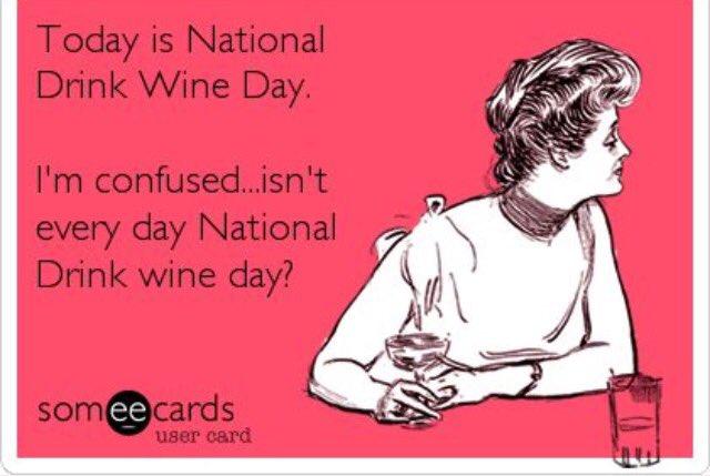 Happy #NationalDrinkWineDay