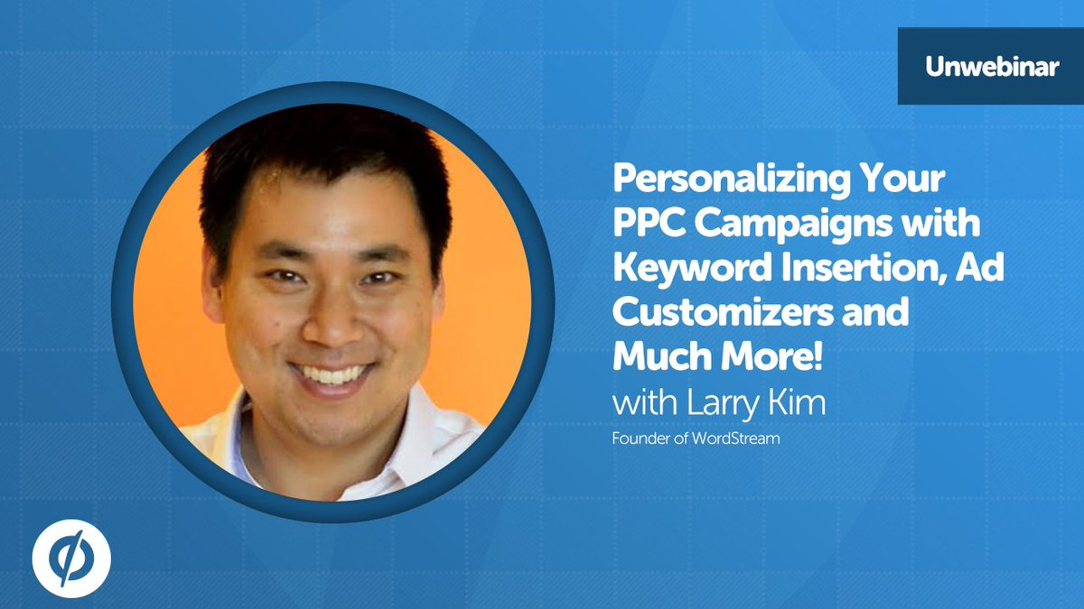 Grab the recording of our latest #unwebinar for tons of actionable #PPC tips from @larrykim: https://t.co/6ESroAAt7i https://t.co/uoOUmXz4xX