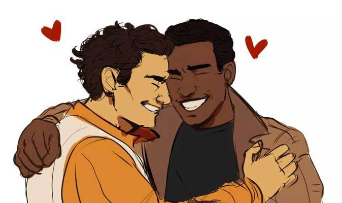 cartoon Gay starwars